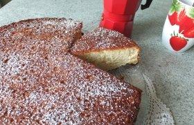 Citrininis varškės pyragas