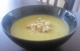 Keptų moliūgų sriuba su vištiena