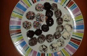 Šokoladiniai rutuliukai