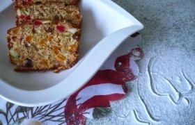 """Kalėdinis džiovintų vaisių pyragas su """"Farino"""" cukrumi"""