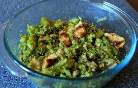 Kepti brokoliai su omletu