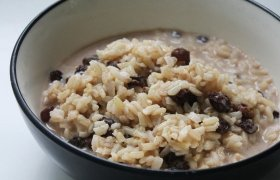 Gardi ir sveika rudųjų ryžių košė