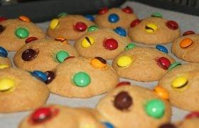 Sausainiai su saldainiukais vaikams