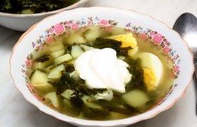 Skani špinatų sriuba