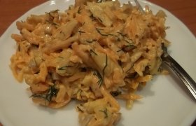 Gaiviosios morkų salotos
