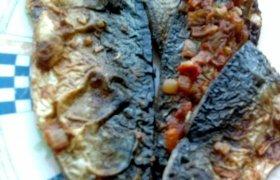 Skumbrė kepta orkaitėje
