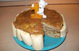 Blynų tortas mažiesiems