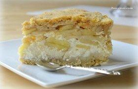 Gardusis Beatos draugės Vilmos trupininis obuolių ir varškės pyragas