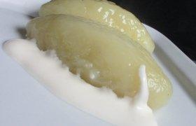 Tarkuotų bulvių cepelinai su mėsos ir varškės įdarais