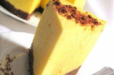 Apelsinų skonio moliūgų tortas su maskarpone