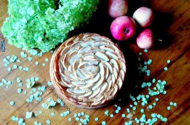 Gražusis obuolių pyragas