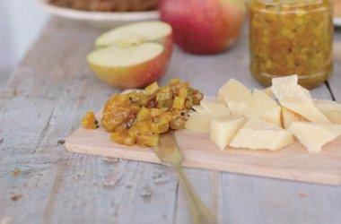 Obuolių ir cukinijų pagardas