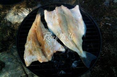 Žuvis ant grilio