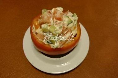 Įdarytas pomidoras