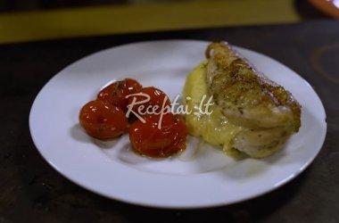 Vištienos kepsneliai su itališkais prieskoniais