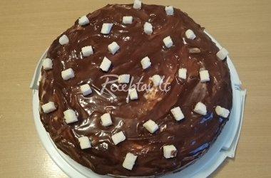 Šokoladinis kokosinis tortas