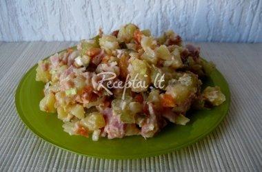 Bulvių salotos su vištiena