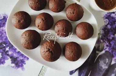 Evos šokoladiniai keksiukai