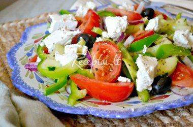 Klasikinės graikiškos salotos