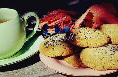 Trapūs sausainiai su kardamonu ir imbieru