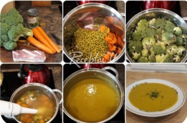 Trinta kalafijorų ir žirnių sriuba