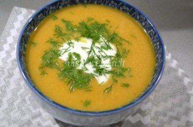 Trinta morkų ir moliūgų sriuba