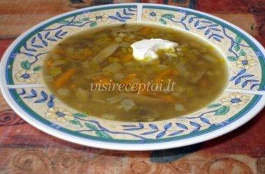 Grybų sriuba