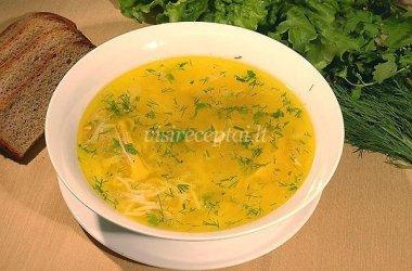 """Paprasta makaronų sriuba """"Jaunystė"""""""