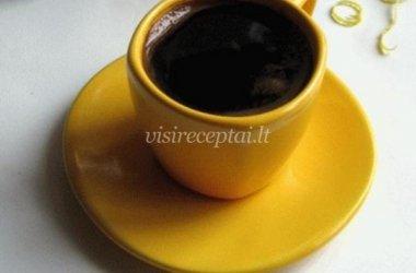 Kava su klevų sirupu
