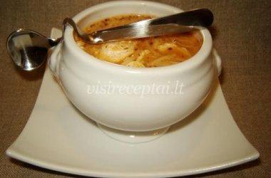 Sriuba (Sopa criolla)