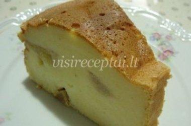 Varškės ir sūrio apkepas