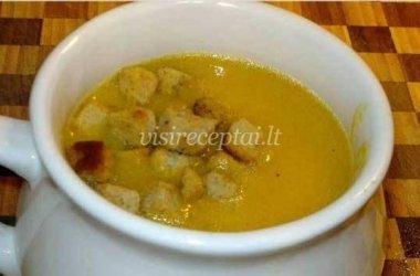 Moliūgų sriuba