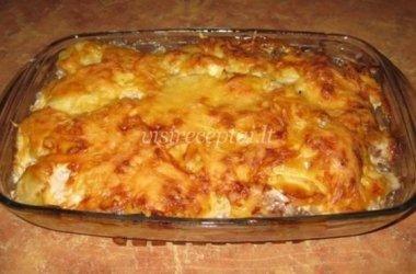 Bulvių ir cukinijų pyragas