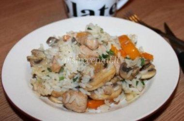 Vištienos ir ryžių troškinys