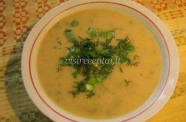 Trinta cukinijų sriuba