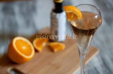 Apelsininis putojančio vyno kokteilis