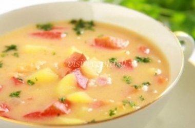 Paprikų ir bulvių sriuba