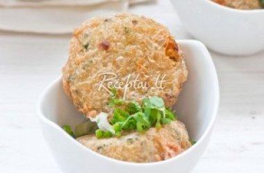 Bulvių kotletai su porais