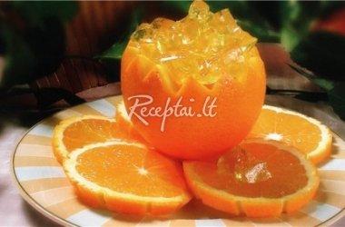 Želė drebučiai apelsine