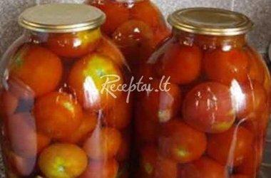 Marinuoti pomidorai