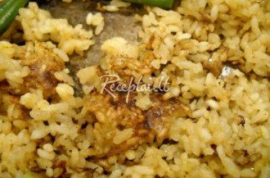 Ryžiai su kiaušiniais
