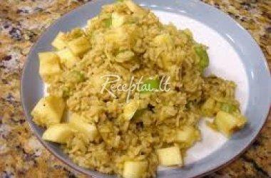 Pikantiški ryžiai su apelsinais
