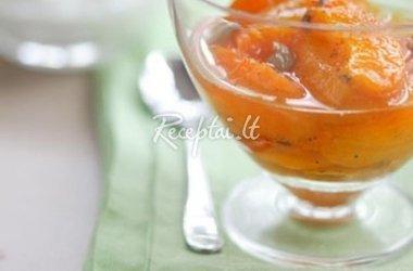 Obuolių sulčių sriuba