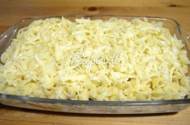 Makaronų ir sūrio apkepas