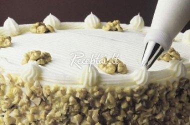 Aušros želė tortas