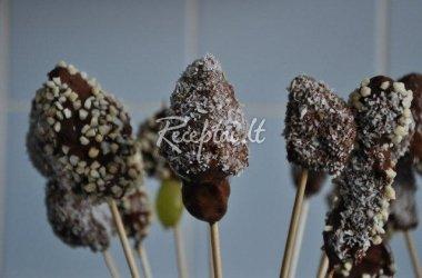Vaisiai šokolade