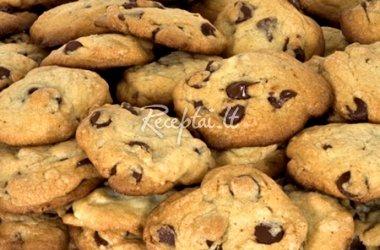 Sausainiai su šokoladu