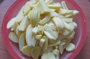 Keptos bulvės ir vištiena
