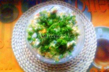 Lengvos pavasario salotos