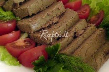 Žaliasis vištienos paštetas